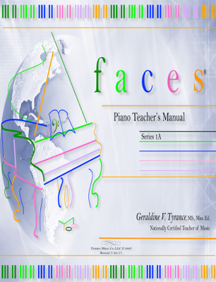 faces® Piano Teacher's Manual 1A - Geraldine Tyrance book