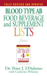 Blood Type AB Food Beverage And Supplement Lists
