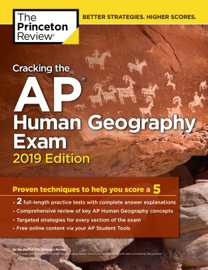Cracking the AP Human Geography Exam, 2019 Edition book