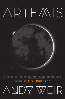 Artemis - Andy Weir book