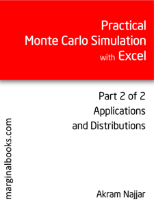 Practical Monte Carlo Simulation with Excel - Part 2 of 2 Libro Cover