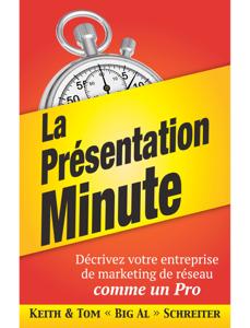 La Présentation Minute La couverture du livre martien