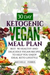 30 Day Ketogenic Vegan Meal Plan  Best  90 Healthy And Delicious Vegan Recipes To Help You  Enjoy Ideal Keto Lifestyle