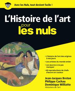 L'histoire de l'art pour les nuls Couverture de livre