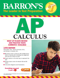 Barron's AP Calculus book