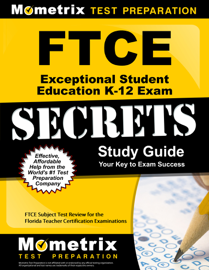 FTCE Exceptional Student Education K-12 Secrets Study Guide