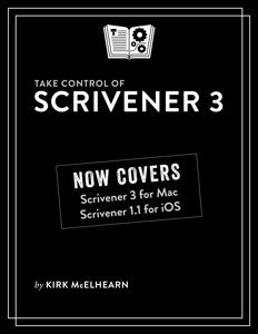Take Control of Scrivener 3 Boekomslag