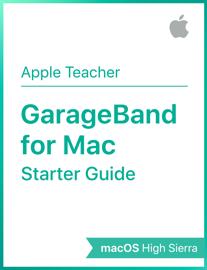 GarageBand for Mac Starter Guide macOS High Sierra book