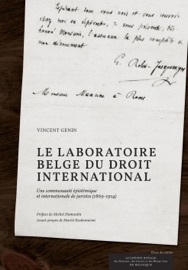 Le Laboratoire Belge Du Droit International