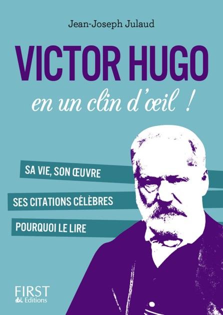 Petit Livre De Victor Hugo En Un Clin Doeil De Jean Joseph Julaud En Apple Books