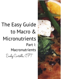 The Easy Guide to Macro & Micronutrients book