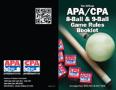 APA/CPA 8-Ball & 9-Ball Game Rules Booklet