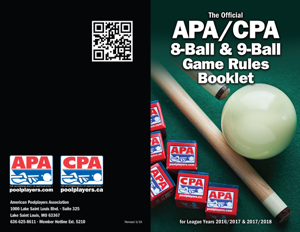 APA/CPA 8-Ball & 9-Ball Game Rules Booklet Book Review
