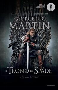 Il trono di spade 1. Il trono di spade, Il grande inverno. Copertina del libro