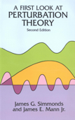 A First Look at Perturbation Theory Book Cover