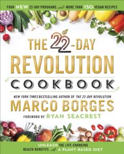 The 22-Day Revolution Cookbook Boekomslag