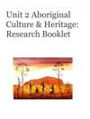 Aboriginal Culture  Heritage