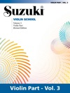 Suzuki Violin School - Volume 3 Revised