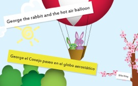 Baby Book George The Rabbit And The Hot Air Balloon