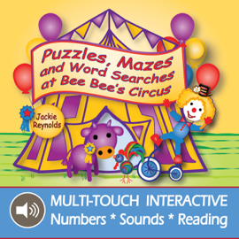 Puzzles, Mazes and Word Searches at Bee Bee's Circus