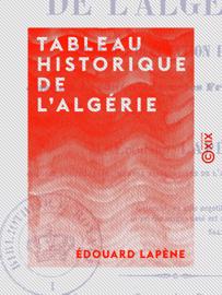 Tableau historique de l'Algérie