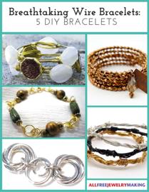 Breathtaking Wire Bracelets-5 DIY Bracelets book