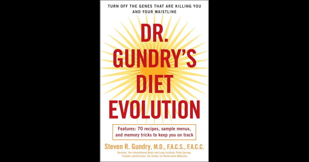 dr gundry diet evolution pdf