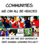 The 2nd and 3rd Graders at IBA's Summer Learning Project 2015 - Communities: We Can All Be Heroes  artwork