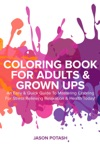 Coloring Book For Adults  Grown Ups  An Easy  Quick Guide To Mastering Coloring For Stress Relieving Relaxation  Health Today