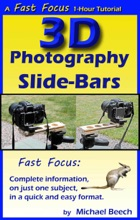 3D Photography Slide-Bars, How to Make 3D Camera Slide-Bars and Twin-Cam Mounting Bars