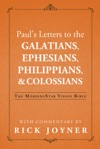 Pauls Letters To The Galatians Ephesians Colossians  Philippians The MorningStar Vision Bible