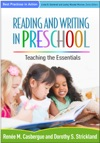 Reading And Writing In Preschool