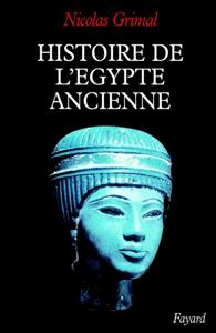 Histoire de l'Egypte ancienne La couverture du livre martien