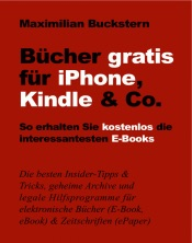 Bücher gratis für iPhone, Kindle & Co.