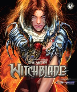 The Art of Witchblade Book Cover