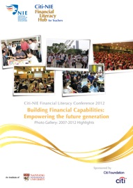 CITI-NIE FINANCIAL LITERACY CONFERENCE 2012 BOOKLET