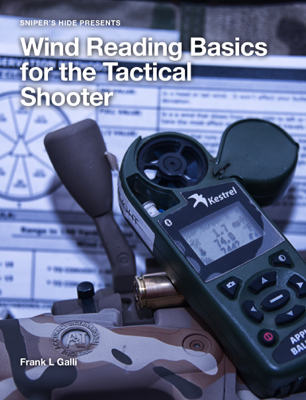 Wind Reading Basics for the Tactical Shooter - Frank L Galli book