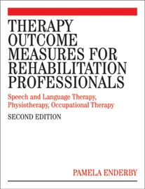 Therapy Outcome Measures For Rehabilitation Professionals