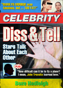 Celebrity Diss and Tell Boekomslag
