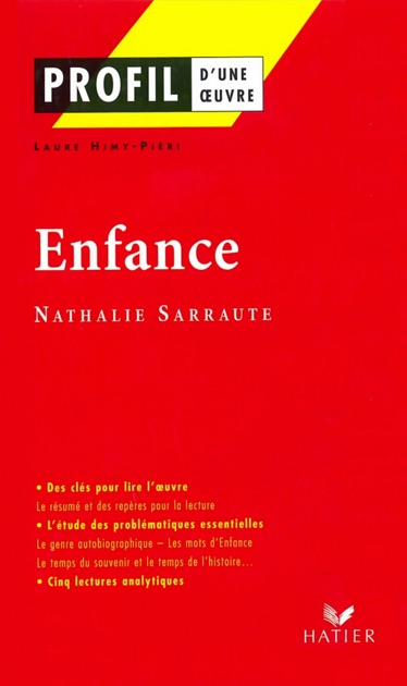 Profil Nathalie Sarraute Enfance By Laure Himy Georges Decote Claude Sarraute On Apple Books
