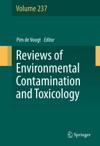 Reviews Of Environmental Contamination And Toxicology Volume 237