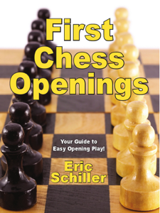 First Chess Openings Copertina del libro