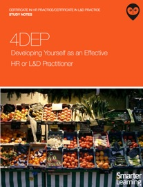 Download of 4DEP Developing Yourself as an Effective HR or L&D Practitioner: Study Notes PDF eBook
