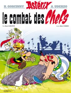 Astérix - Le Combat des chefs - n°7 Couverture de livre