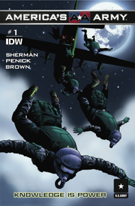 America's Army #1 - Knowledge is Power Book Review