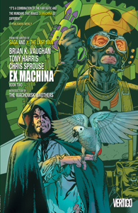 Ex Machina Book Two Copertina del libro
