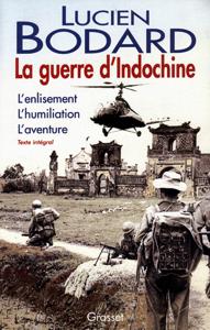 La guerre d'Indochine La couverture du livre martien