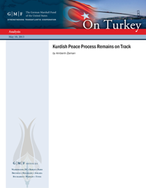 Kurdish Peace Process Remains on Track book