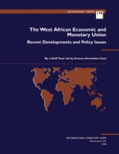 The West African Economic And Monetary Union: Recent Developments And Policy Issues
