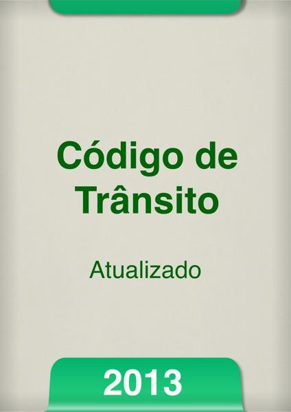 Código de Trânsito Brasileiro 2013